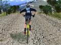 Jogo - 3D Mountain Bike, Aventure-se com sua bicicleta neste game com gráficos 3D. Preste muita atenção e evite todos os obstáculos que estiver em seu caminho, recolhas as estrelas para acumular pontos. Passe pelas rampas para conseguir impulsos.