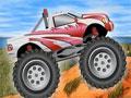 Jogo Online - 4 Wheel Madness 2.5, Uma competi��o com os mais potentes e enormes carros, fa�a a escolha do seu ve�culo e prepare-se para competir com os mais experientes pilotos de corrida, sua miss�o � completar toda a pista em primeiro lugar, tome muito cuidado com os obst�culos que possuem no seu caminho.