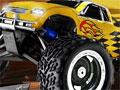4x4 Monster, Pilote seu carro monster e encare diversos obstáculos pelo caminho. Percorra em menor tempo possivel mantendo o equilíbrio para não explodir seu carro em cada nível.