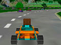 8 Bits 3D Racing - Escolha um ve�culo de sua prefer�ncia para come�ar a jogar. Pise fundo e mantenha o controle do carro nas curvas, cruze a linha de chegada em primeiro lugar torne-se o verdadeiro vencedor.