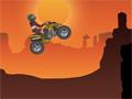 ATV Canyon, com sua moto nas montanhas do Grand Canyon, passe por grandes obstáculos, realize diversas manobras arriscadas e marque muitos pontos, divirta-se!