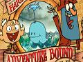 Adventure Bound Flapjack - Jogo do Flapjack e o Capit�o, que est�o precisando de sua ajuda para pegar o ouro em alto mar. Controle os movimentos da baleia jogando um dos personagens para recolher as moedas at� chegar do outro lado, n�o deixe eles cair no mar.