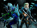 Alien Attack Team - Mostre suas habilidades ao derrotar seus inimigos. Use sua arma para impedir que os aliens invadam a Terra, seja esperto o suficiente para vencer cada um deles.
