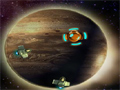 Acabe com todas as naves inimigas e consiga cargas de energia para se manter no jogo.
