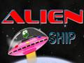 Jogo Alien Ship, Voc� esta no controle de uma nave espacial, sua miss�o � ajudar os Alien�genas a salvar seus amigos que est�o perdido espa�o, desvie de todos as nuvens e obst�culos que estiver em seu caminho.