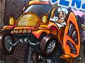 Jogo - Ambulance Frenzy, Conduza a ambulância por diversos lugares diferentes, faça o resgate dos pacientes e leve-os para o hospital o mais rápido possivel, lembre-se de pilotar seu veículo com total segurança, pois a vida de pessoas esta em jogo.