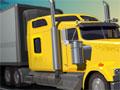 Jogo - American Truck, Você é o responsável por uma carreta que possui uma carga super perigosa, sua missão é encontrar vagas de estacionamento em diversos lugares pela cidade, preste muita atenção e jamais atropele os pedestres, estacione cuidadosamente e teste os seus conhecimentos de baliza.