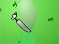 Use sua espada e ataque tudo que aparecer na sua frente, tome muito cuidado para você não ser atingido.