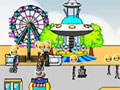 Jogo - Amuse Park,  Administre seu próprio parque de diversões, busque sempre a satisfação de seus clientes com atrações incríveis e assim você vai conseguir muito dinheiro com seu novo empreendimento. Lembre-se de aumentar a capacidade de rentabilidade do seu parque.