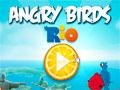 Angry Birds Rio - Ajude os angrys birds a libertar os personagens do filme Rio. Mire e atire no alvo, tente acert�-los com o menor n�mero de tentativas poss�veis.