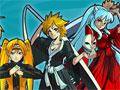 Jogo Anime Smash Beta, Um game de luta com alguns personagens dos Animes Naruto e Sasuke em versão feminina, desafie seu adversário e vença todas as lutas que conseguir, faça diversos combos e solte seus maiores poderes, divirta-se!