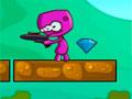 Another Planet 2 - Ajude o alien encontrar a saída. Salte sobre as plataformas e use o laser para destruir alguns obstáculos, recolha os diamantes em cada fase.