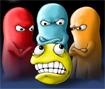 Nesse jogo de Pacman você é o fantasma! Tente comer o Pacman antes que ele coma todos os pontinhos!