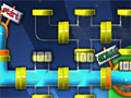 Jogo Online - Aqualux, Através de uma jogada de logica, sua missão é encaixar os tubos para que a água consiga chegar até o dreno. Tenha paciência e complete todos os níveis deste divertido game que vai surpreender você.