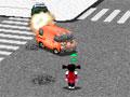 Auto Smash - Você estava calmamente passeando pela rua com sua bike e derrepente um carro veio em sua direção e destruiu sua bicicleta. Destrua todos os veículos que passar pela rua para se vingar, mire e atire seu chinelo nele com toda a sua força.