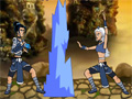 Escolha o seu lutador e para esta luta no Avatar Arena. Aproveita e faça  varias combinações de golpes.