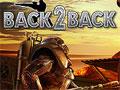 Jogo Online - Back 2 Back, Um game de estratégia no qual você deve sobreviver a qualquer custo. Você recebeu a missão de proteger a sua base dos ataques, seja um guerreiro eficiente e acabe com tudo que tentar aproximar da sua base, adquira dinheiro para atualizar o seu arsenal, não tenha piedade em executar todos os alienígenas. Vença essa batalha!