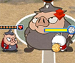 Entre nessa partida que mais parece uma guerra de bolas, ataque seu adversário com toda sua força.