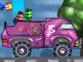 Barbie Truck - Ajude a barbie a pilotar o caminhão para que consiga levar as mercadorias. Ela quer retribuir o carinho com seu fã levando brinquedos para a loja, não deixe nada pelo caminho e dirija com muita atenção.