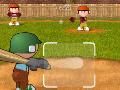 Jogo Baseball Jam, Você esta se preparando para um grande campeonato de Basebol, rebata a bola o mais longe que você conseguir, para que você consiga marcar muitos pontos e que sua equipe sinta orgulhosa de ter você entre eles.