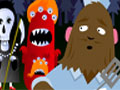 Jogo Online - Beastie Burgers, Raoul Montego precisa ganhar a vida com seu novo empreendimento em Monsterville, sua missão é ajuda-lo a fazer deliciosos Hamburguers para que possa satisfazer todos os clientes, Conquiste uma reputação no seu trabalho para que consiga clientela em lugares de maior prestígio, Seja um verdadeiro Administrador de Lanchonete.