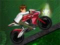 Ben 10 Moto Ride, Ajude o Ben10 a pilotar sua nova moto. Faça todo o percurso completo antes do tempo acabar e faça isso sem cair, recolha itens para aumentar sua pontuação.