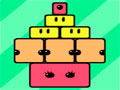 Blinkz - Elimine as peças para que os outros blocos se encontre.Tente com o menor número de clique possível resolve o estágio, mais tenha cuidado para ao retirar um item pra não desmoroná tudo.