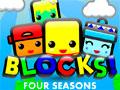 Blocks! Four Seasons - Encontre maneiras de colocar os blocos dentro da aréa demarcada. Pense bem antes de começar a jogar e ache a melhor forma de posicioná-los sem deixar cair de dentro pontilhados.