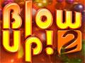 Blow Up 2 - Retire as bolas coloridas do tabuleiro. Mire e atire nas cores correspondentes para eliminar rapido da tela, não deixe elas se aproximarem da linha demarcada.