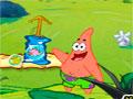 Bob Esponja Sweet Bubble - Ajude o Patrick nesse jogo de trinca. Elimine as bolhas pelo cenário com rapidez, mire com sua figura correspondente para retirá-la e não deixe que ela encoste na parte debaixo.