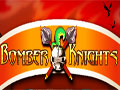 Jogo - Bomber Knights, Seja um cavaleiro jogando o famoso e clássico game Bomberman, destruindo todas as barreiras com suas bombas até você encontrar seu arque-inimigo e acabar com ele. A cada destruição uma surpresa para te ajudar. Acabe com seu inimigo para mudar de estagio.