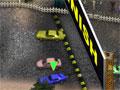 Jogo - Brutal Racing Nitro Addiction, Você está participando de uma corrida onde só vencerá o melhor. Escolha o motorista, carro e pista no deseja correr e chegue sempre em primeiro lugar para destravar novos percursos, bata nos adversário para que eles percam a direção e você marque mais pontos.