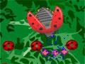 Bug Slayer - Ajude a borboleta nessa batalha com os insetos maus. Mire e atire nos alvos recolhendo as moedas para depois fazer um upgrade e ficar mais fortes para proteger seu jardim.