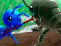 Bugwar 2 - Crie um exército de insetos para garantir a sobrevivência da colônia. Clique sobre elas para começar atacar seus inimigos não deixe que eles domine seu território.