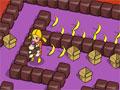 Jogo - Cadê a Saída - Você é um herói. Ajude essa linda garotinha que esta dentro de um labirinto pegar seu macaco e conseguir escapar do homem mal. Seja rápido quando a saída abrir corra e fuja.