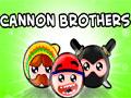 Cannon Brothers - Com seu canhão mire no alvo para destruí-lo. Com agilidade acerte as caveras com o menor número de tentativas possíveis em cada fase e destruas as caixas para ganhar pontos.