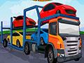 Car Carrier Trailer 2 - Pilote um caminhão cegonheiro pela pista. Leve o veículo até a área indicada, depois realize a tarefa indicada para completar toda a ação do jogo.