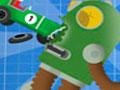 Cars Vs Robots - Salte o mais alto que conseguir com seu carrinho de brinquedo. Sua tarefa é destruir os robôs pelo cenário com o menor número de tentativas possíveis.