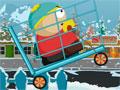 Catman Shopping Cart - Ajude o garoto em suas estripulia. Ele est� a bordo de um carrinho de supermercado, controle seus movimentos para se equilibrar e mostrar toda a sua habilidade.