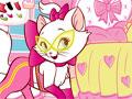 Jogo Cat Dress Up, a gatinha precisa da sua ajuda para ficar bem bonita para uma sessão de fotos, escolha lacinhos, roupinha e deixe a gata bem linda com sua criatividade, divirta-se!