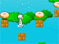 Cheese-Eating Cat - Controle o gato pelo cenário e recolha toda a comida. Salte pelas plataformas com cuidado para que ele não caía, seja ágil e conclua todos os níveis.
