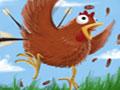 Jogo Chicken Rampage, Os frangos ficaram totalmente malucos e estão querendo te atacar, com seu arco e flecha, acabe com todos eles, faça tiros certeiros e acumule pontos para concluir todos os níveis deste game, teste seus conhecimentos com pontaria.