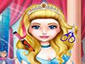 Cinderella Real Haircuts - Você é a cabeleireira do castelo. Sua tarefa é fazer o cabelo para o baile real, use todos os apetrechos para deixar a princesa linda fazendo cada penteado de acordo com o look.
