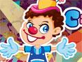 Jogo - Circus Clown Show, Neste game Você tem que equilibrar o palhaço em cima da bola o maior tempo possível sem deixa-lo cair em nenhum momento. Movimente-se de um lado ao outro para pegar os objetos que caem e marcar muitos pontos.