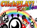 Clickplay Rainbow - Encontre pelo cenário o botão de play. Retire o que for preciso para encontrar o alvo, clique sobre o objeto para aparecer e fique atento pois ele pode estar em lugar que você menos espera.
