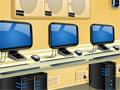 Jogo - Computer Lab Escape, Infelizmente você ficou preso em uma central de informática. E sua missão agora é descobrir alguma maneira de escapar deste local. Teste seu raciocínio e utilize todas as pistas que encontrar.