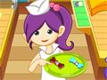 Cookie Maker, seu objetivo é ajudar a pequena confeiteira a fazer deliciosos cookies, para que seu Cookie fique bom, você precisa seguir todos os passos da esteira, modelando e enfeitando, divirta-se com este jogo.