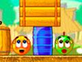 Cover Orange Players Pack 3 - Impeça a chuva má de estragar os frutos. Mostre toda a sua habilidade e capacidade de raciocínio rápido para proteger as laranjas do perigo pelo cenário.