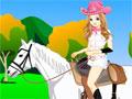Jogo da Cowgirl, A linda garota vai em uma nova cavalgada, porem ela esta muito confusa na sua escolha de sua roupa, Ajude ela a se vestir, para que ela possa ir bem bonita e confortável para o seu passeio.