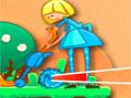 Crazy Croquet - Em um conto de fada tente vencer a rainha Croquet. Ajude a Alice a jogar o ouriço dentro do buraco, siga também as instruções que o gato vai te fornecer no decorrer de cada fase.